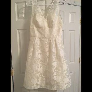 Ivory J. Crew dress size 6